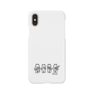 ニャンデス Smartphone cases