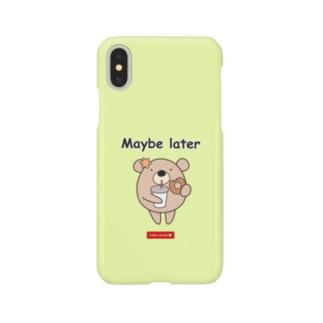 くまのココ(Maybe later) Smartphone cases