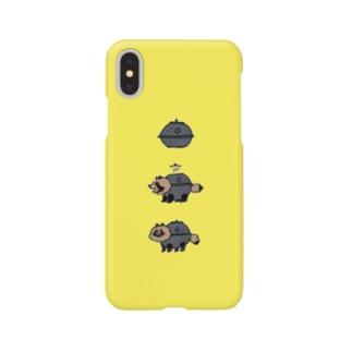 茶釜たぬき Smartphone cases