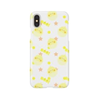 まんまるいんこ (PFルチノー) Smartphone cases