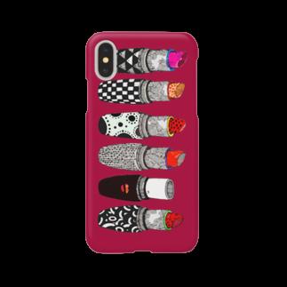 majoccoのkiss me Smartphone cases