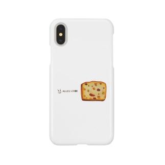 フルーツパウンドケーキ Smartphone cases