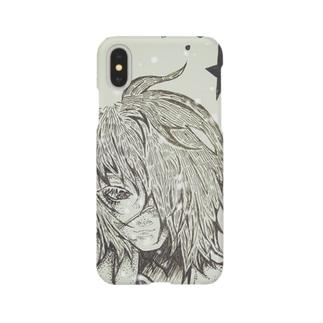 藤村(ペン画バージョン) Smartphone cases