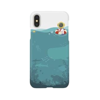 ぷかぷか潜水ちゃん Smartphone cases
