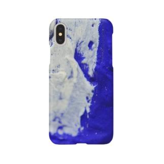 額縁について ウルトラマリンブルー Smartphone cases