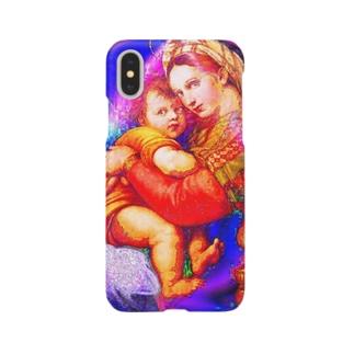 聖母子像 Smartphone cases