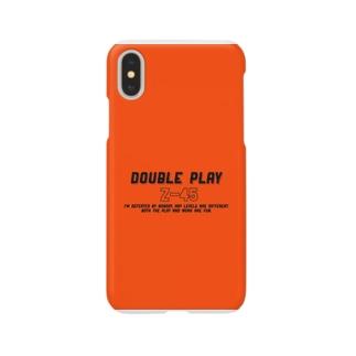 iPhoneケース オレンジ Smartphone cases