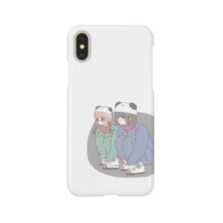 熊猫倶楽部 スマートフォンケース