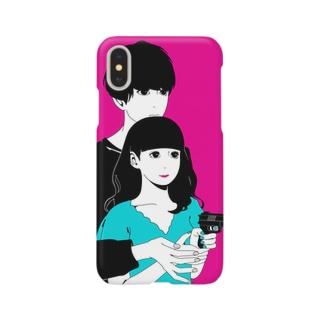 いっしょに○○○ Smartphone cases