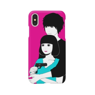 いっしょに○○ Smartphone cases
