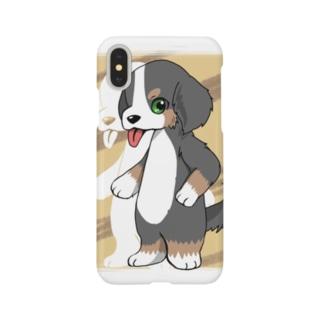 バーニーズマウンテンドッグ Smartphone cases