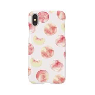 桃柄iPhoneケース Smartphone cases