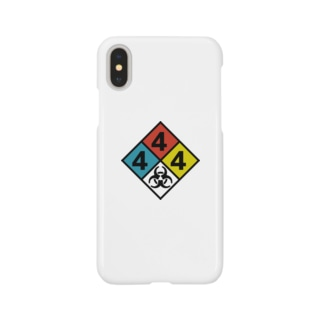 NFPA 704 バイオハザードマーク Smartphone cases