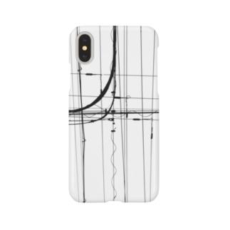 電線5 Smartphone cases