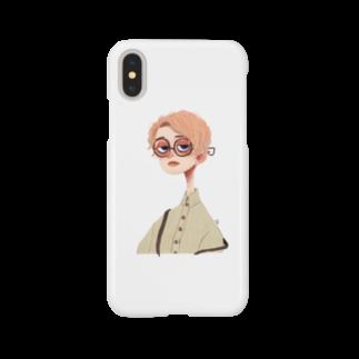 aki hondaのgirl.1 c Smartphone cases