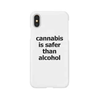 Cannabis Is Safer Than Alcohol Smartphone cases