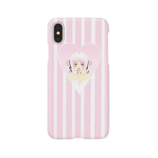 メンヘラちゃん(あの娘) Smartphone cases