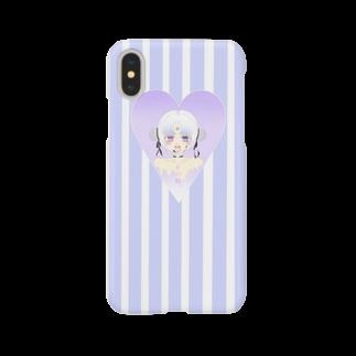 ゆうきちゃんですっ!戦闘力1586233のメンヘラちゃん(その娘) Smartphone cases