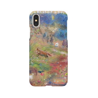月ノ子の森に恋してのムラナギ/Moondrop's Forest Smartphone cases