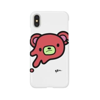 クマさんiPhoneケース Smartphone cases