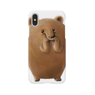 クマ©️ Smartphone cases