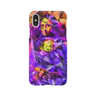 モナリザキューブ Smartphone cases