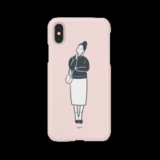 つまようじのYAKATAのgirl Smartphone cases