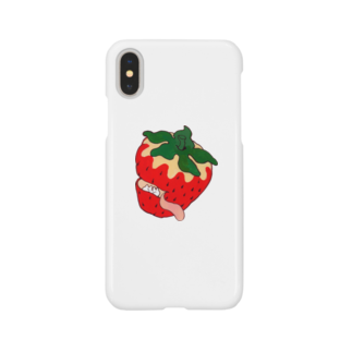 YORIYUKIのいちご Smartphone cases