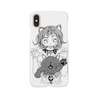 猫と猫 Smartphone cases