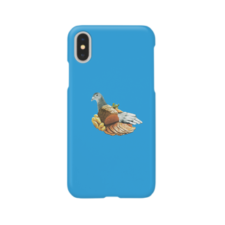 ヌーヨークみやげのpigeon Smartphone cases