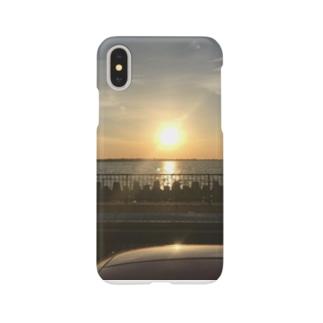 沈む太陽 Smartphone cases