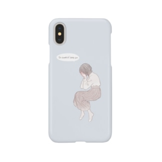 I'm scared of losing you. Smartphone cases