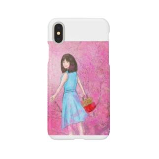 お花見 Smartphone cases