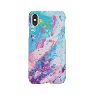 4月のペトリコール|まひる Smartphone cases
