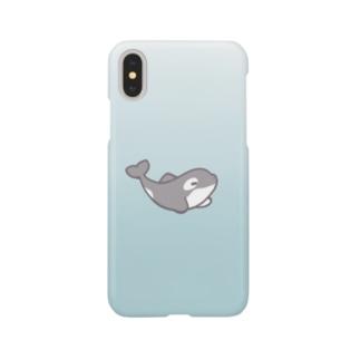 シャチ Smartphone cases
