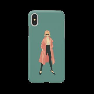 おみせの春コート Smartphone cases