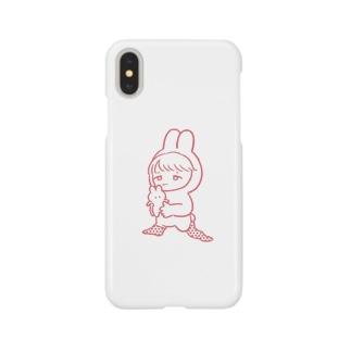 ねむうさくん Smartphone cases