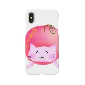 ©️ゆるマイ  りんご猫 Smartphone cases