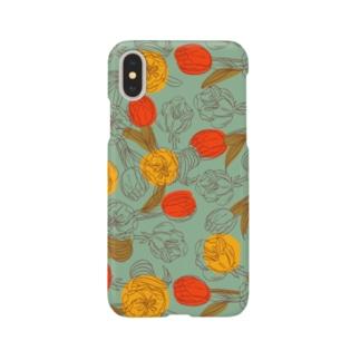 antique flowers Smartphone cases