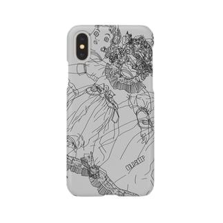 バラバラドール2 グレー Smartphone cases