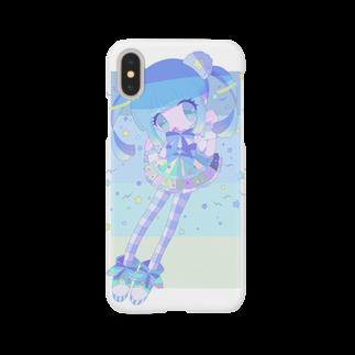 蜜園みるら🎀のあおいくま Smartphone cases