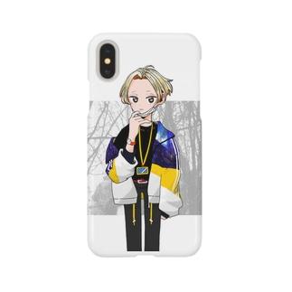 少年Aくん Smartphone cases