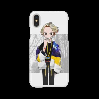 ebiharaの少年Aくん Smartphone cases
