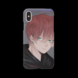 ❦来夢❦は歌が好き。の❦来夢❦のスマホケース(iPhone) Smartphone cases