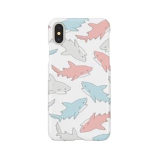 カラフルサメ Smartphone cases