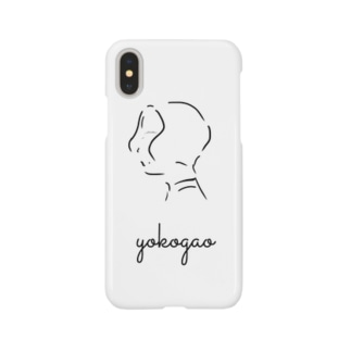 yokogao girl Smartphone cases