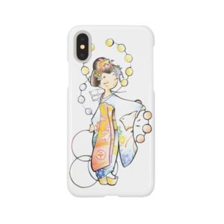 五花街の京舞妓 第一弾 Smartphone cases