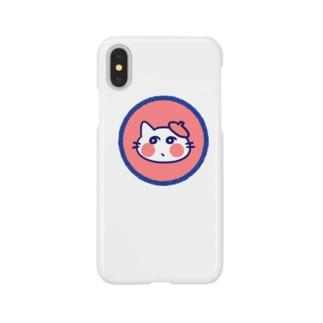 レトロ色ねこ Smartphone cases