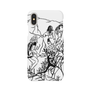 jagged_teethのrocky mountain Smartphone cases