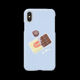 Ka-keruのチョコ×SKYBLUE Smartphone cases